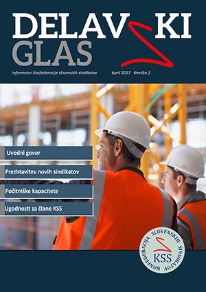 Delavski glas - št. 2 - naslovnica