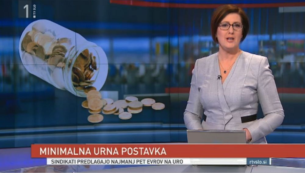 Sindikati predlagajo najmanj pet evrov na uro